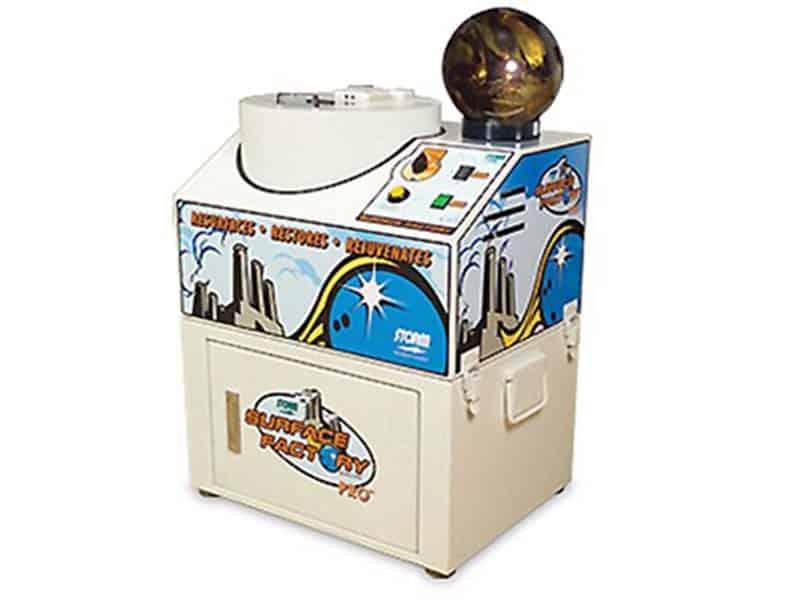 ボール研磨機:ストーム社・Surface Factory Pro