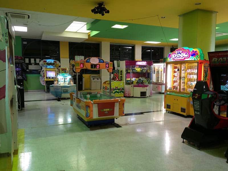 ゲームコーナー併設